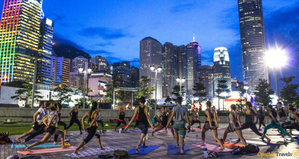 Finding Your Light – Sunday Sunset Yoga in Hong Kong