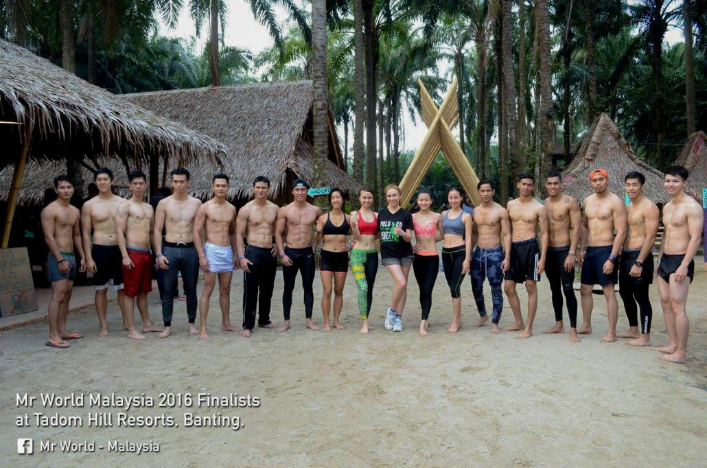 What I Learned When I Went to Teach Yoga to the Mr World Malaysia Finalists